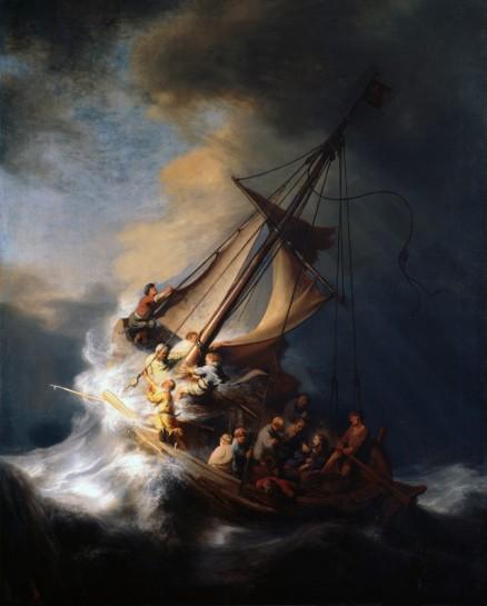 Resultado de imagem para barca na tempestade igreja