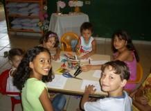 Novas atividades do Culto Infantil na Comunidade de Porto Velho