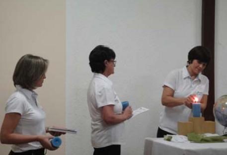 Paróquia do Araguaia na Semana Nacional da OASE