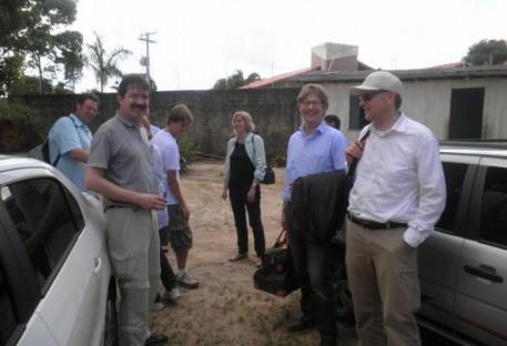 Comitiva da Obra Missionária Evangélica Luterana na Baixa Saxônia - OMEL, visita o Sínodo da  Amazônia