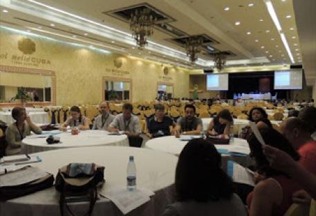 Assembleia do CLAI - Sessão reservada às Regiões e Famílias Confessionais