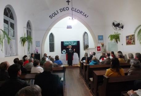 Comunidade de Taquari recebe novo Ministro