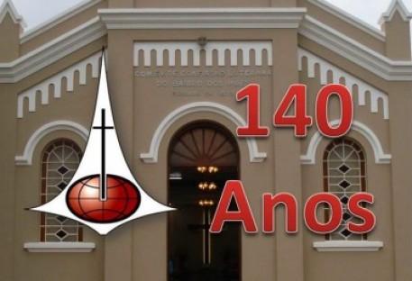 140 anos da Comunidade Evangélica de Confissão Luterana no Bairro dos Pires