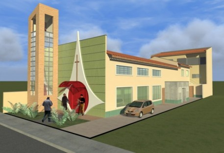 Campanha para portas e janelas para o templo e casa pastoral em São Luís/MA
