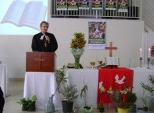 Celebração do Dia da Igreja da União Paroquial em Campinas