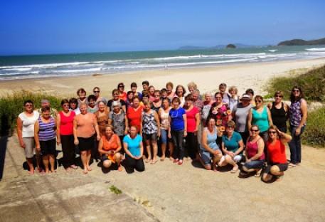 Visita do Grupo de OASE da Paróquia Rio Bonito