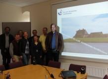 Comitiva sinodal está na Alemanha em programa de intercâmbio com a Igreja do Norte da Frísia.
