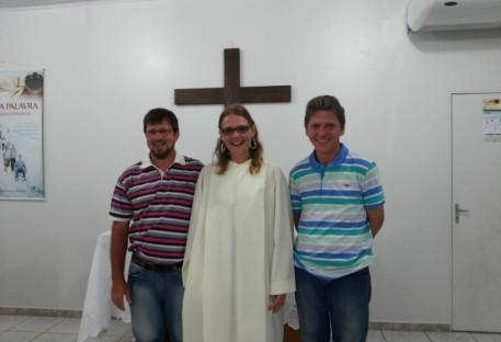 Luteranos do Paraguai no culto em Guaratuba!