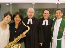 Celebração recebe missionária da Igreja Luterana do Japão - JELC