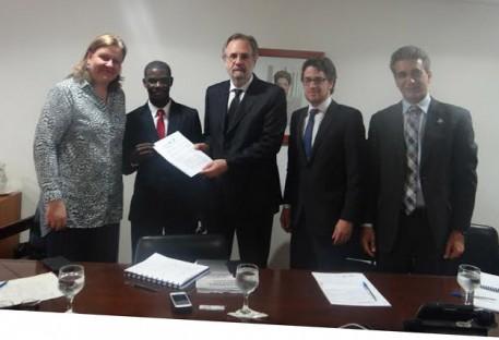 Miguel Rossetto recebe representantes do Fórum Ecumênico ACT-Brasil