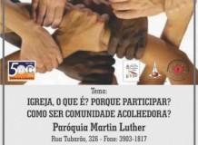SEMINÁRIO DE FORMAÇÃO E CAPACITAÇÃO DE LIDERANÇAS
