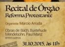 Recital de Órgão - Reforma Protestante