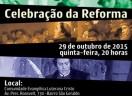 Celebração da Reforma - 2015