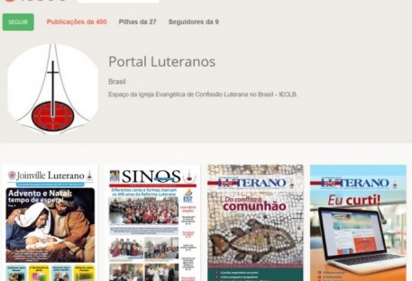 Mais de 500 publicações a partir do Portal Luteranos