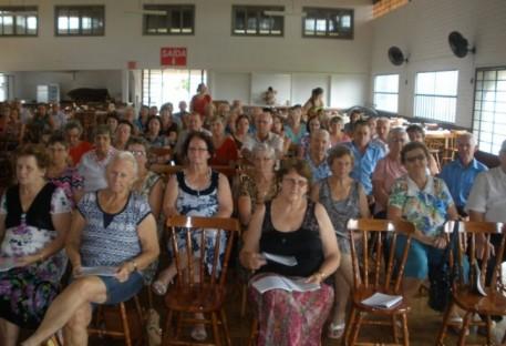 Chá de Advento com Grupo de Idosos em Mondaí/SC