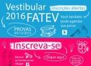 Vestibular FATEV 2016
