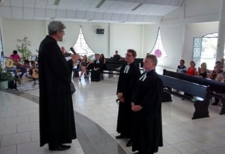 Investidura dos novos Pastores na Paróquia Martim Lutero - Luis Eduardo Magalhães/BA