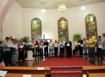 Paróquia Evangélica de Confissão Luterana em Igrejinha entrega certificados de participação aos integrantes do Planejamento Estratégico Missionário