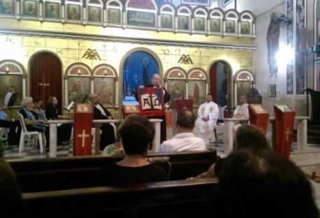 Celebração Ecumênica na Igreja Orthodoxa de Santos/SP 10/05/2016