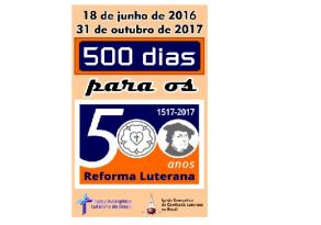 IECLB e IELB em conjunto nos 500 dias para os 500 anos da Reforma Luterana