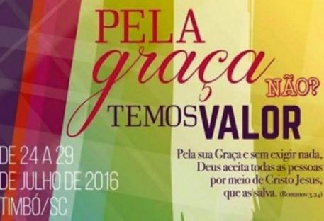 """""""Pela graça de Deus, temos valor"""": Congresso Nacional de Juventude IECLB"""