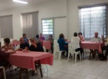 Grupo de Idosos em Ferraz - Rio Claro/SP