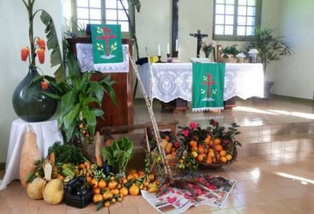 Festividade da Colheita - IECLB no Laju - Mondaí/SC