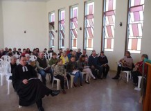 Culto de Ação de Graças em Linha Olinda - Nova Petrópolis/RS