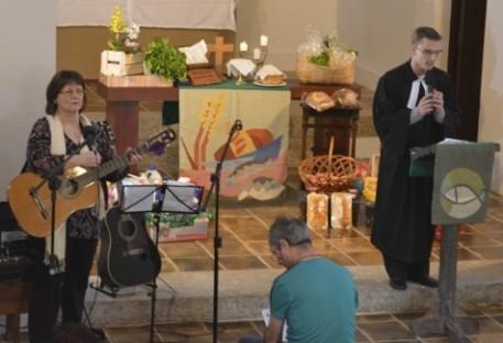Culto de Ação de Graças e Festa da Colheita - Vale do Paraíba - SP
