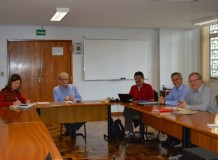 Representantes da OMEL visitam a Sede Nacional da IECLB
