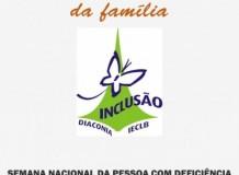 Semana Nacional da Pessoa com Deficiência - 2016
