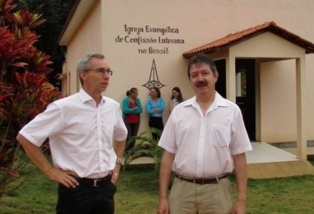 O Sínodo Espírito Santo a Belém recebeu visita da Alemanha