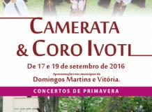 Camerata e Coro de Ivoti se apresentam em Domingos Martins