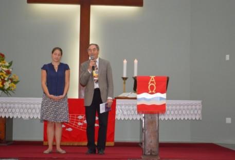 XXX Concílio da IECLB - Saudação Pastor Hans Zeller - Igreja Evangélica Luterana na Baviera/Alemanha