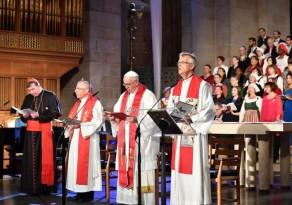 Luteranos e católicos realizam celebração conjunta em Lund, na Suécia, com forte apelo pela unidade