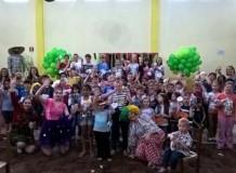 Linha Pinheiro Machado realiza 5ª Tarde Paroquial das Crianças
