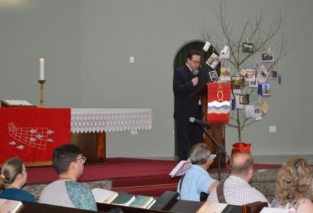 XXX Concílio da IECLB - Saudação do Secretário Geral do Conselho Mundial de igrejas (CMI)