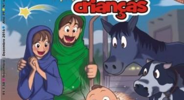 Crianças vivendo o Advento e o Natal! Chegou a edição nº 66 da revista O Amigo das Crianças!