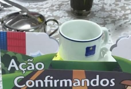 Paróquia Curitiba Norte na Trilha da Solidariedade!