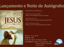 """Lançamento do Livro """"Jesus: Profeta e Luz do Mundo"""", de Cida Almeida"""