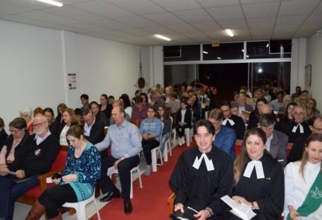 Cleomar Raach é instalado na Comunidade São João Batista/SC