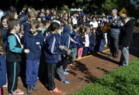 Evento marca plantio da 4ª macieira dos 500 anos da Reforma