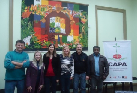 CAPA Pelotas recebe visita de IECLB e FLD