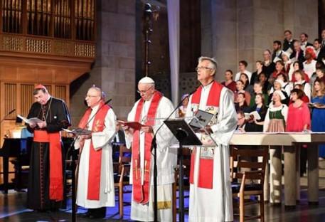 Reforma: celebração conjunta en Lund marca a data