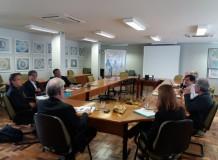 Presidência e Secretaria Geral da IECLB recebem delegação da Igreja Evangélica Luterana do Japão (JELC)
