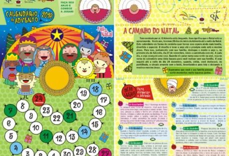 Calendário de Advento 2016 - Obra Gustavo Adolfo