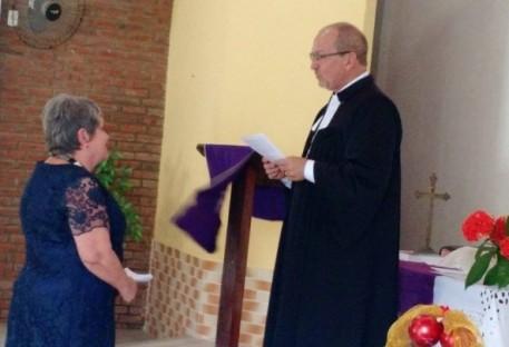 Dóris Kieslich se torna catequista emérita