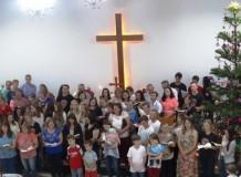 Cantata de Natal na Paróquia Aliança