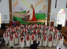 Paróquia Aliança realiza Cantata de Natal com alunos/as da ADL