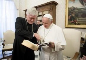 Igreja Evangélica alemã faz convite histórico ao Papa Francisco
